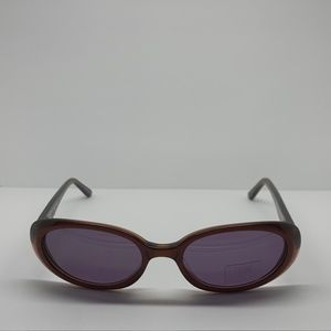 Cassini 5035 Clear Brown Oval Sunglasses Frames
